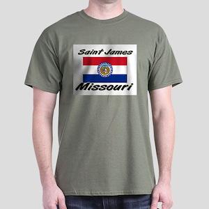 Saint James Missouri Dark T-Shirt