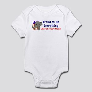 Proud to be everything liberals can't stand Infant
