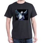 New Orleans cemetery angel Black T-Shirt