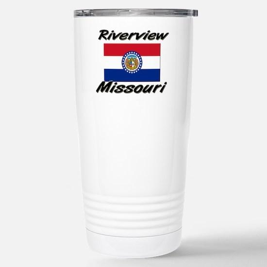 Riverview Missouri Stainless Steel Travel Mug