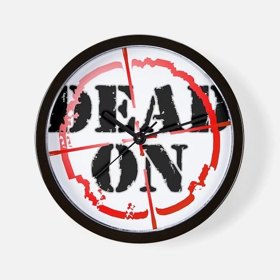 Dead-On (gunsight) Wall Clock