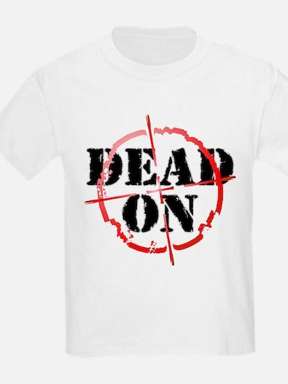 Dead-On (gunsight) Kids T-Shirt