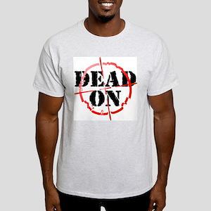 Dead-On (gunsight) Ash Grey T-Shirt