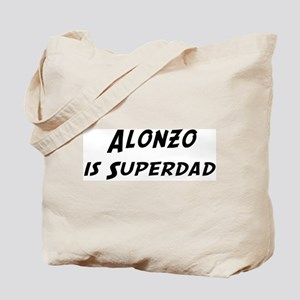 Alonzo is Superdad Tote Bag