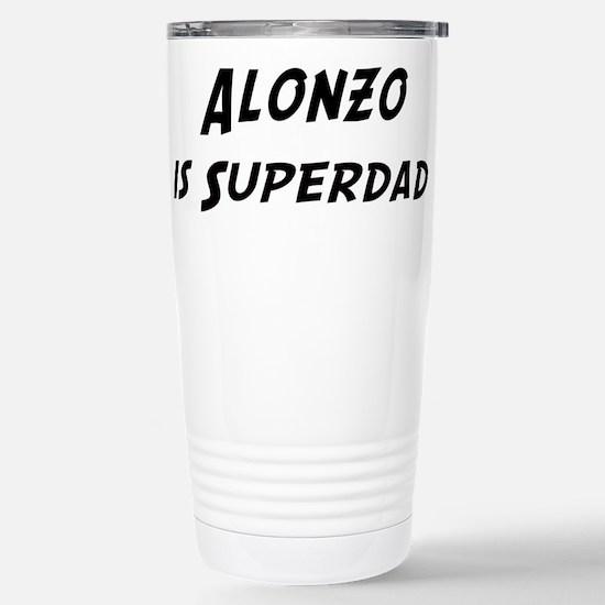 Alonzo is Superdad Stainless Steel Travel Mug