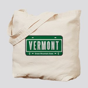 Vermont Plate Tote Bag