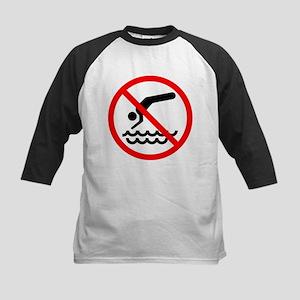 No Diving! Kids Baseball Jersey