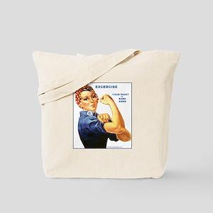 Bare Arms Tote Bag