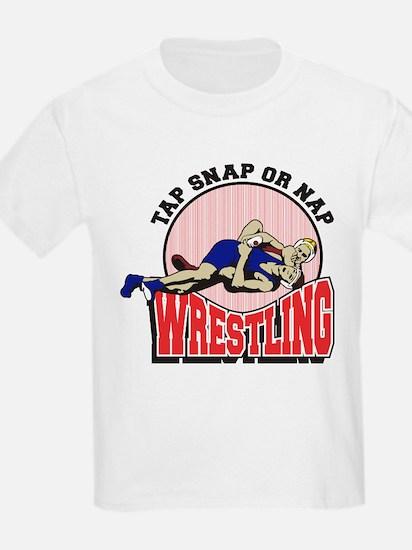 Tap Snap or Nap Wrestling T-Shirt