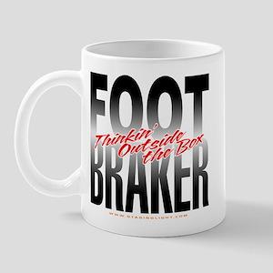 Footbraker: Thinkin' Outside  Mug
