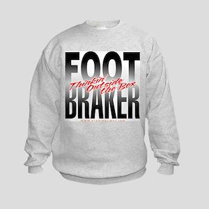 Footbraker: Thinkin' Outside  Kids Sweatshirt