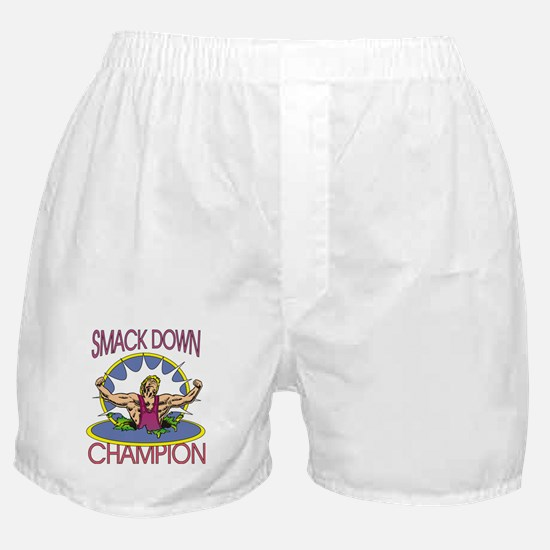 Smack Down Wrestling Boxer Shorts