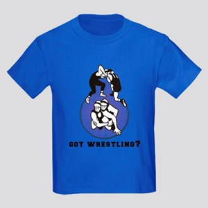 Got Wrestling Kids Dark T-Shirt