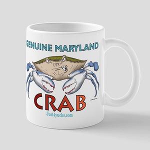 Genuine Maryland Crab Mug