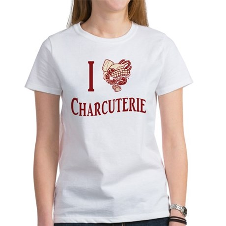 I Love Charcuterie Women's T-Shirt
