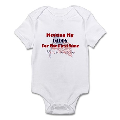 Meeting My Daddy Infant Bodysuit