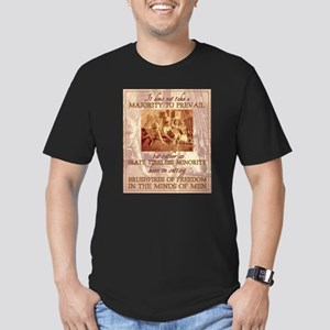 Irate and Tireless Minority Men's Fitted T-Shirt (