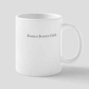 Boutros Boutros Ghali Mug