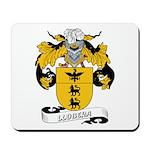 Llobera Coat of Arms Mousepad