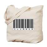 Climber Bar Code Tote Bag