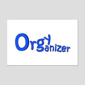 Organizer (Blue) Mini Poster Print