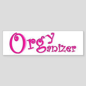 Organizer (Pink) Bumper Sticker
