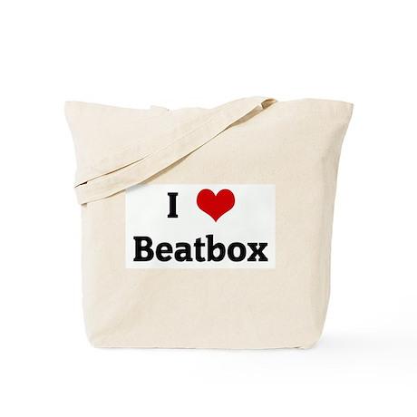 I Love Beatbox Tote Bag