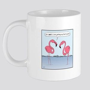 flamingosMug 20 oz Ceramic Mega Mug