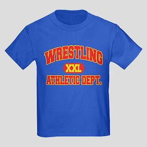 Wrestling Kids Dark T-Shirt