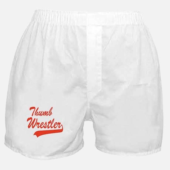 Thumb Wrestling Boxer Shorts