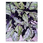 Small Poster - Eggplant Leaves #2/Border