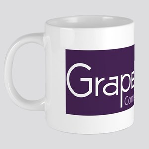 Grape Cat Teapot 20 oz Ceramic Mega Mug