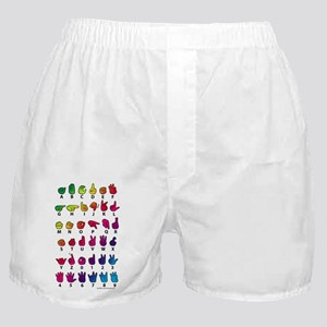 RBW Fingerspelled ABC Boxer Shorts