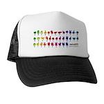 RBW Fingerspelled ABC Trucker Hat