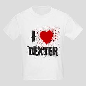 I Splatter Dexter Kids Light T-Shirt