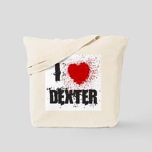 I Splatter Dexter Tote Bag