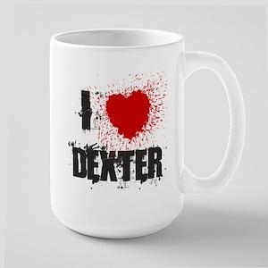 I Splatter Dexter Large Mug