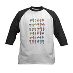 PAS Fingerspelled ABC Kids Baseball Jersey