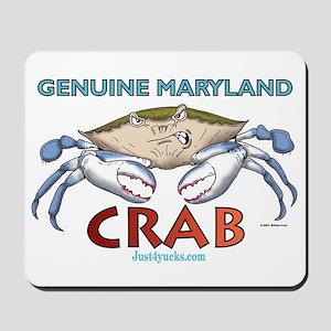 Genuine Maryland Crab Mousepad