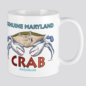 Genuine Maryland Crab Mug