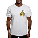 Cartoon kitten cats Christmas Ash Grey T-Shirt