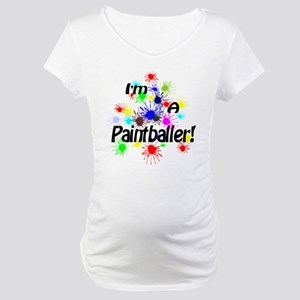 Paintballer Maternity T-Shirt