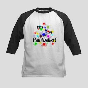 Paintballer Kids Baseball Jersey