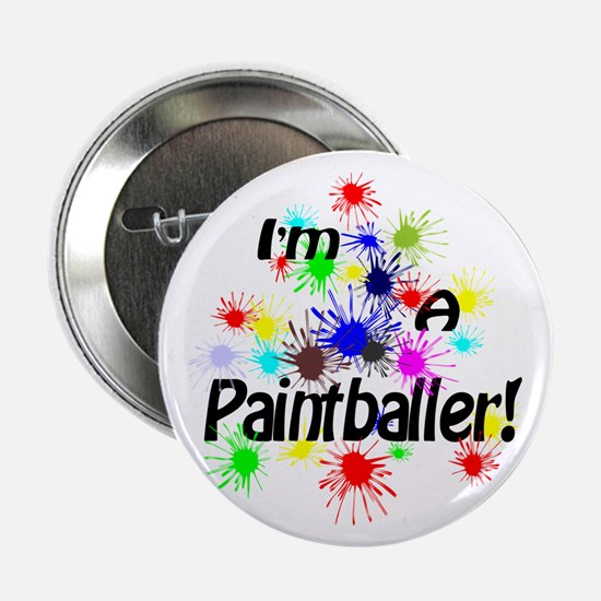 "Paintballer 2.25"" Button (10 pack)"