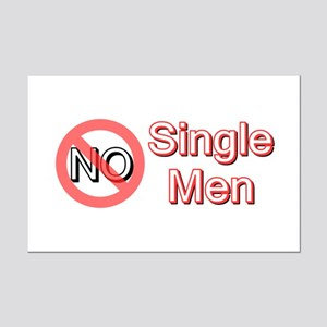 No Single Mini Poster Print