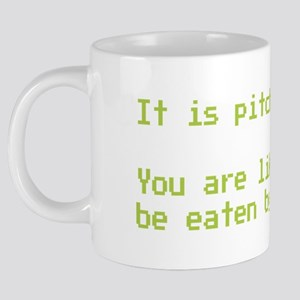 You are likely to be eaten  20 oz Ceramic Mega Mug