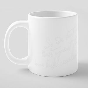 So We Beat On Black 20 oz Ceramic Mega Mug