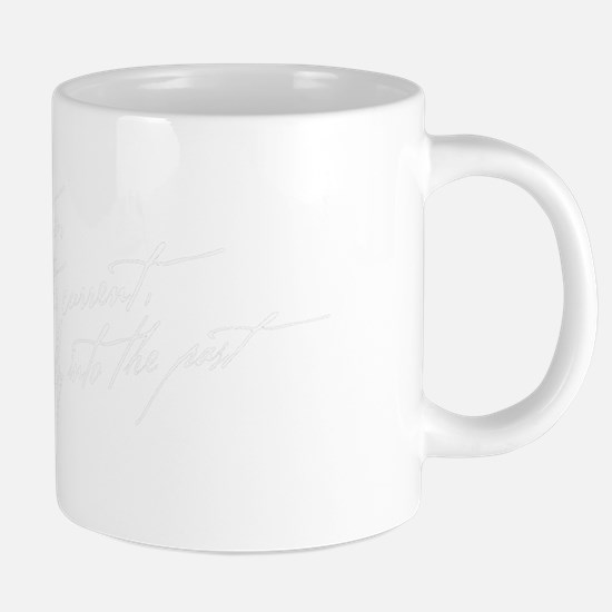 So We Beat On Black 20 oz Ceramic Mega Mug