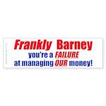 Frankly Barney (Bumper Sticker 10 pk)
