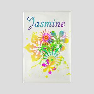Jasmine Rectangle Magnet